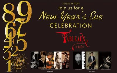 Tableaux New Year's Celebration!